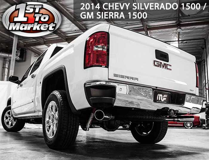 201420152016 Chevrolet Silverado And GMC Sierra Exhaust Systems: Magnaflow Dual Exhaust Kits For Chevy Silverado At Woreks.co