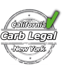 Carb Legal Catalytic Converter-California and New York Certified As Cataloged