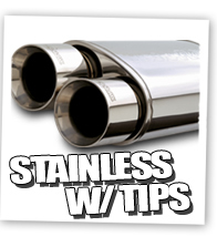 Magnaflow Mufflers with Tips